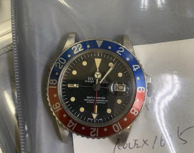 ヴィンテージのロレックス1675GMT
