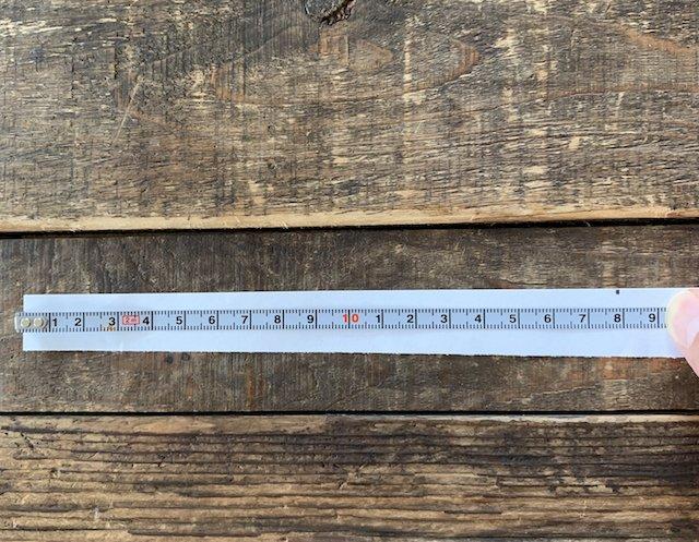 時計を購入するとき手首のサイズを測る