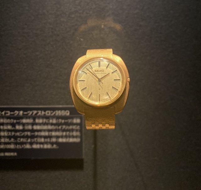 セイコーアストロン53sq 初めての電池式時計クォーツ