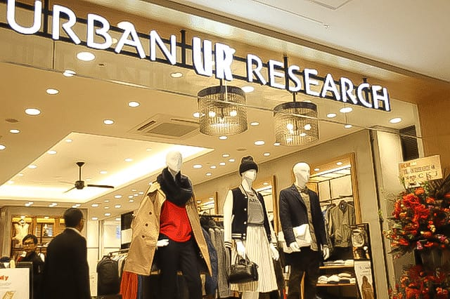 URBAN RESEARCH(アーバンリサーチ)アミュプラザ 鹿児島店