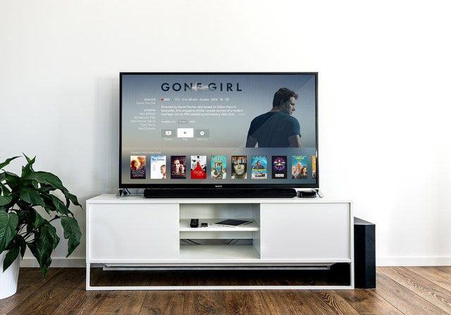 テレビとテレビスタンド
