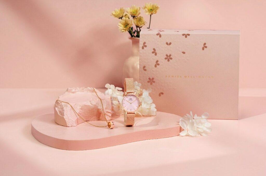 ダニエルウェリントンSpring Edition キャンペーンPetite Melrose Light Pink