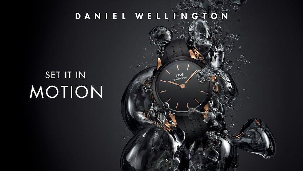 ダニエルウェリントン初の防水時計Iconic Motionの発売