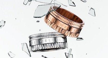 ダニエルウェリントンの指輪、シルバーとゴールド