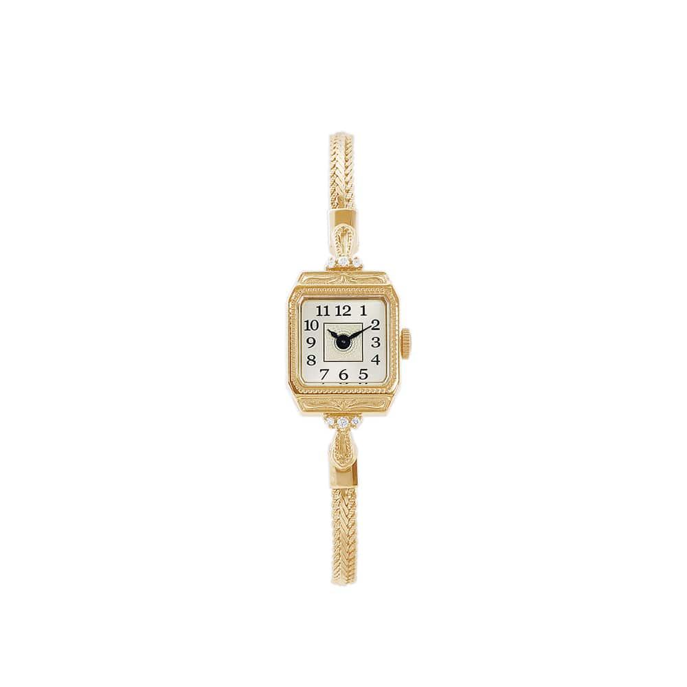 アガットの時計